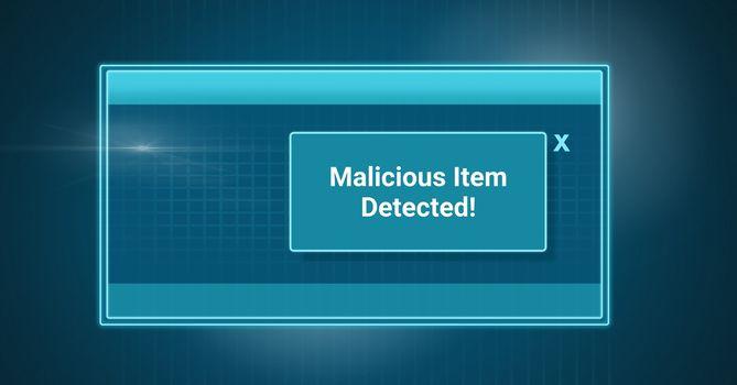 Antivirus security protection shield software box