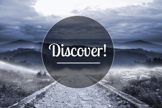 Discover image with landscape