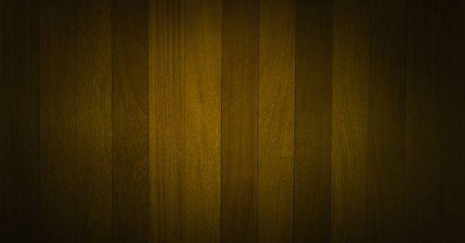 Green wood vignette
