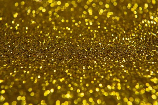 Yellow Christmas glitter