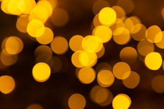 unfocused Christmas light