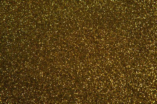 Gold Christmas glitter