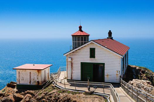 Point Reyes Lighthouse on the California Coast