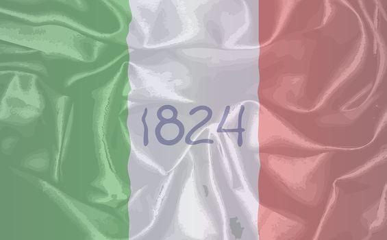 Alamo Silk Flag