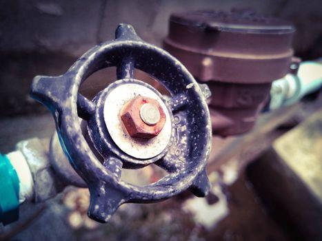 Rotary water supply stop valve