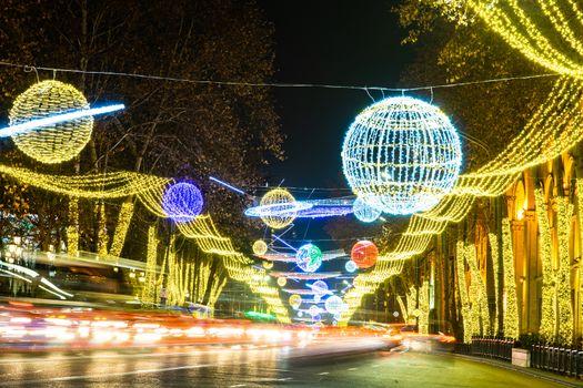 Tbilisi's New Year Illumination