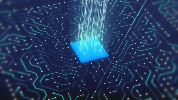 Beaming lines of Powerful and Energetic Microchips
