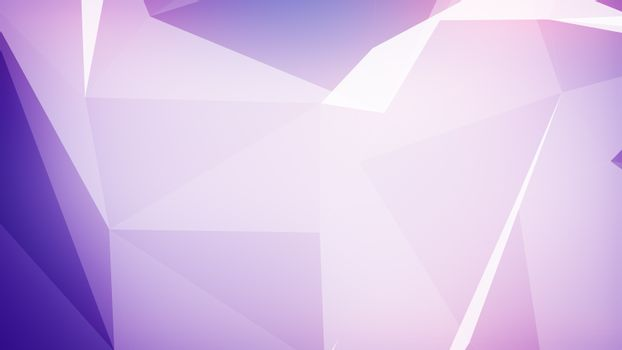 Background with triangles connected in violet colors.