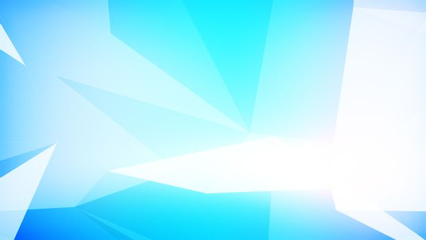 Abstract background in light blue color.