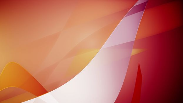 3d rendering of wavy backdrop diagonal