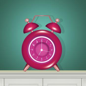 illustration of alarm clock
