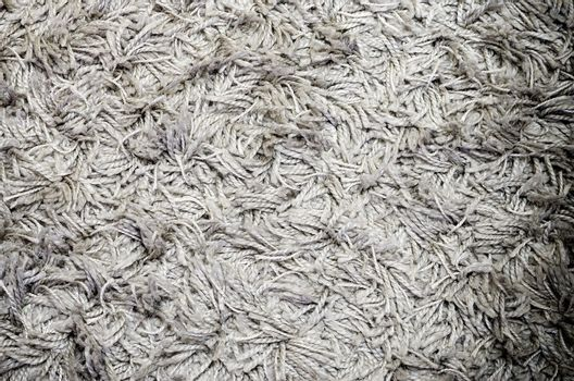White grey carpet texture, used for background, photo with vignette effect