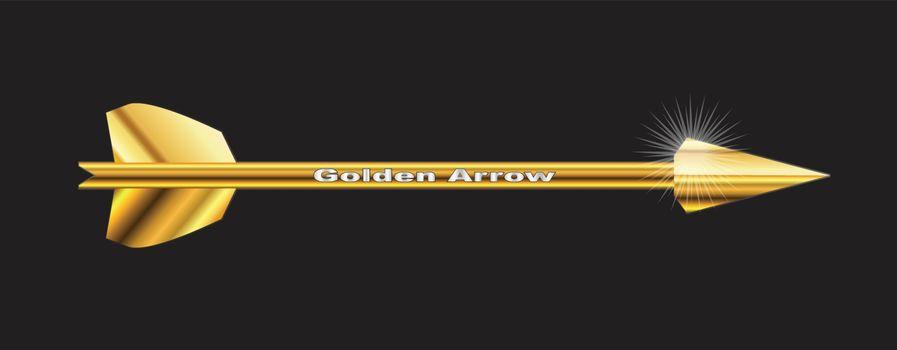 The golden arrow won bt Robin Hood