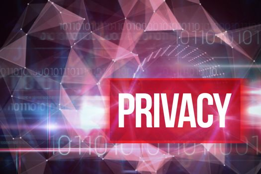 Privacy against blue technology design with binary code