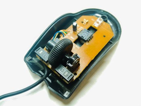 A picture of computer mouse