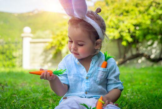 Cute little Easter bunny