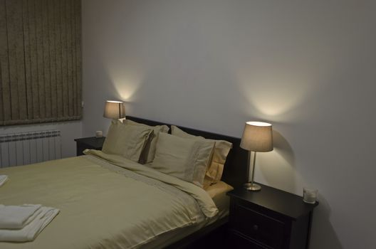 Bedroom in fresh renovated apartment in Sofia, Bulgaria