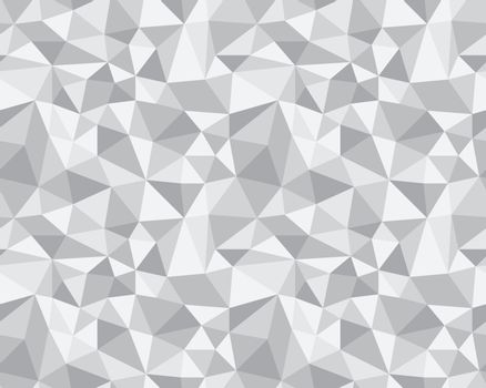 Seamless Vector Background from cells, triangles. Irregular Mosaic backdrop.