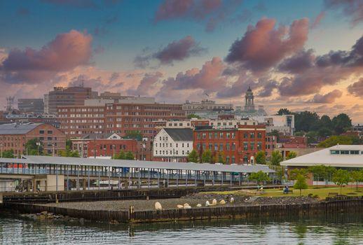 Portland Pier in Early Morning