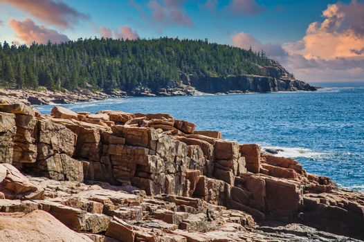 Rocks in Acadia National Forest