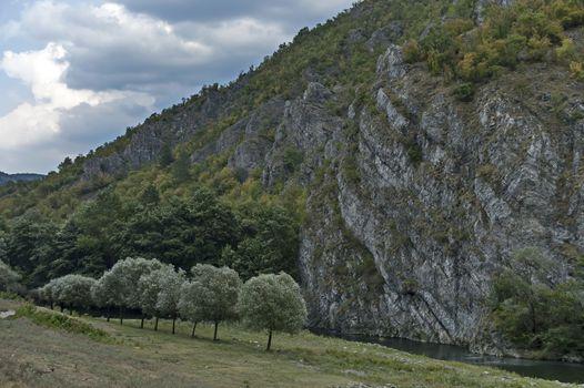 Part of the beautiful valley of Topolnitsa River through Sredna Gora Mountain