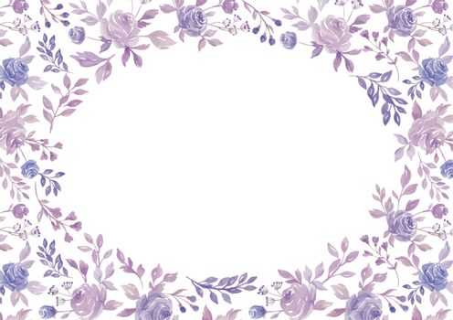 Flower Border (Vector)
