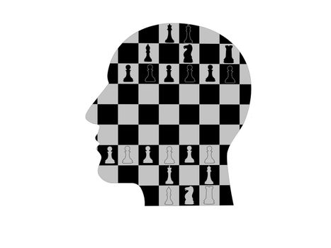 Chess business idea for competition - 3d rendering