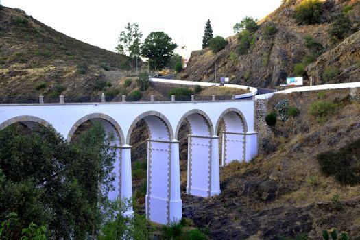 Beautiful bridge with many eyes near Mértola