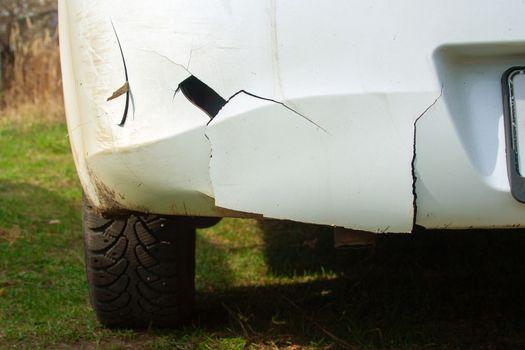 Crack on bumper