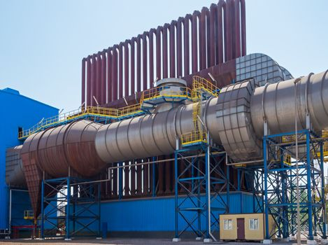 One of the aggregation of electric steel plant of the new generation.