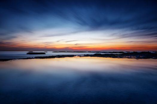 Amazing seascape