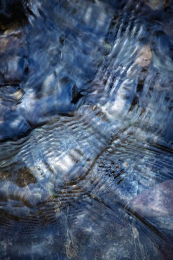 Abstract surface of a river surface