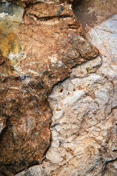 dark two colors of limestone