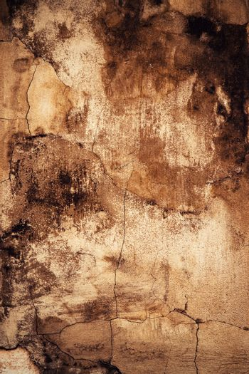 abstract creepy surface of old plaster
