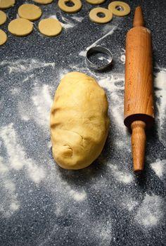 dough prepared for cakes