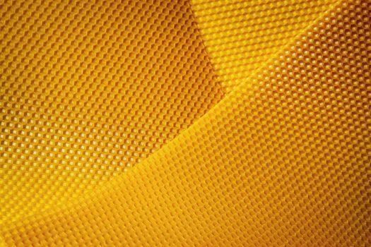 yellow wax honeycomb