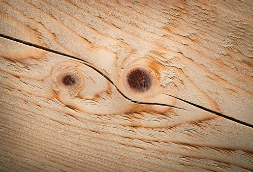 detail brushed spruce boards