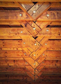 detail the beam truss roof