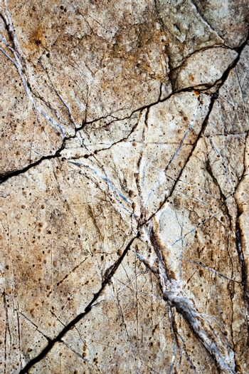 old limestone surface