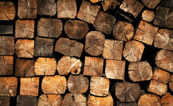 sawn wood fuel for landfill