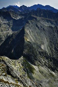 tatra mountain rock crest