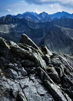 mountain rock crest