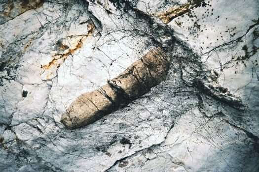 abstract surface limestone with rocks