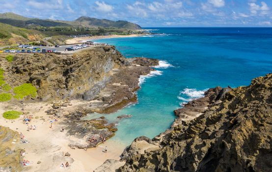 Halona Beach Cove made famous in From Here to Eternity film on Oahu