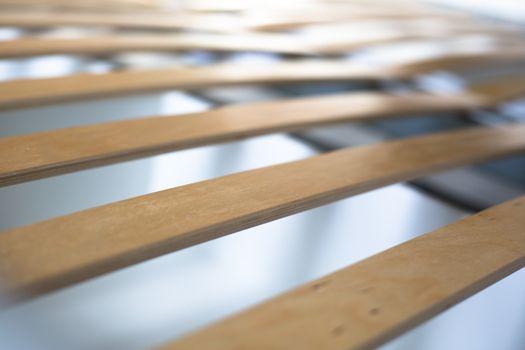 wooden lamella beds