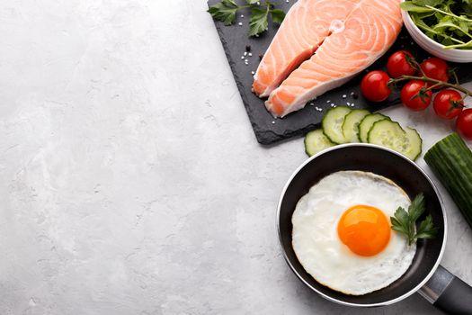Healthy meal ingredients