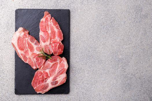 Fresh boneless pork