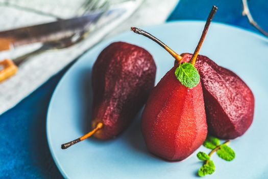 Simple Paleo style dessert pear