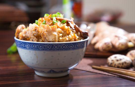 chinese steam rice