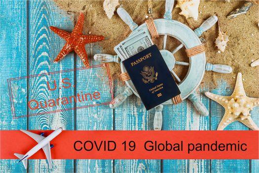 COVID-19 coronavirus global pandemic outbreak cancelled traveler flights